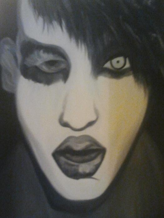Marilyn Manson by Deb